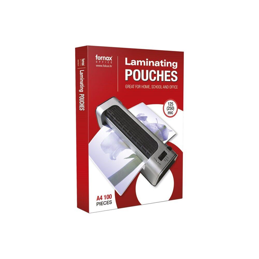 Lamináló fólia FORNAX A/4 125 micron 1/100