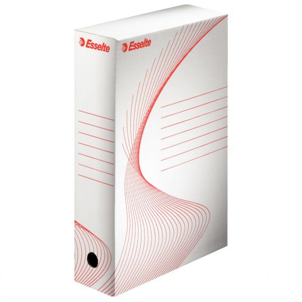 Archiváló boxy doboz 80mm fehér 128080/128001 ESSELTE