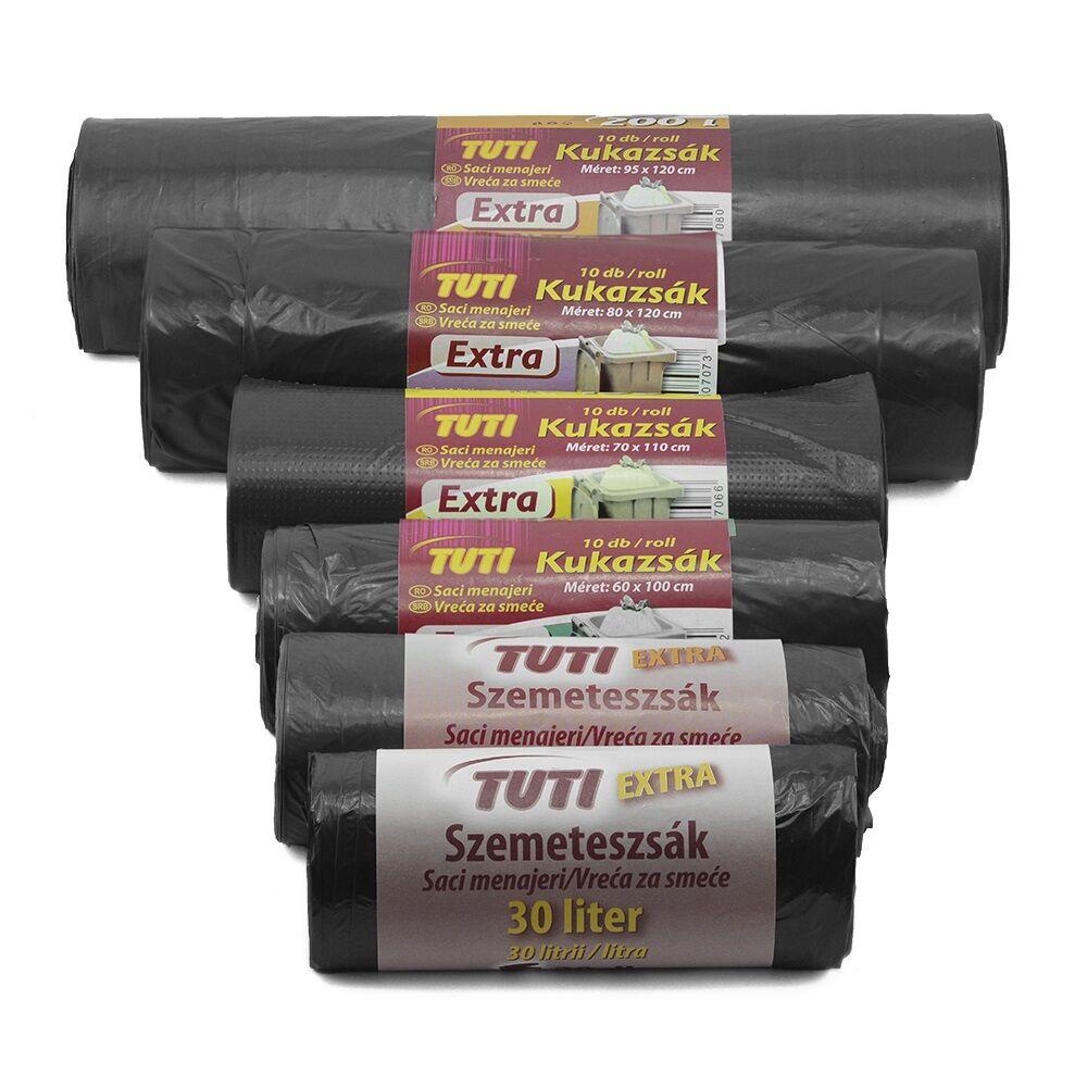 Szemeteszsák 30 liter (20 db/roll) extra