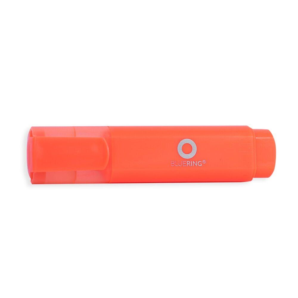 Szövegkiemelő lapos test BLUERING narancs