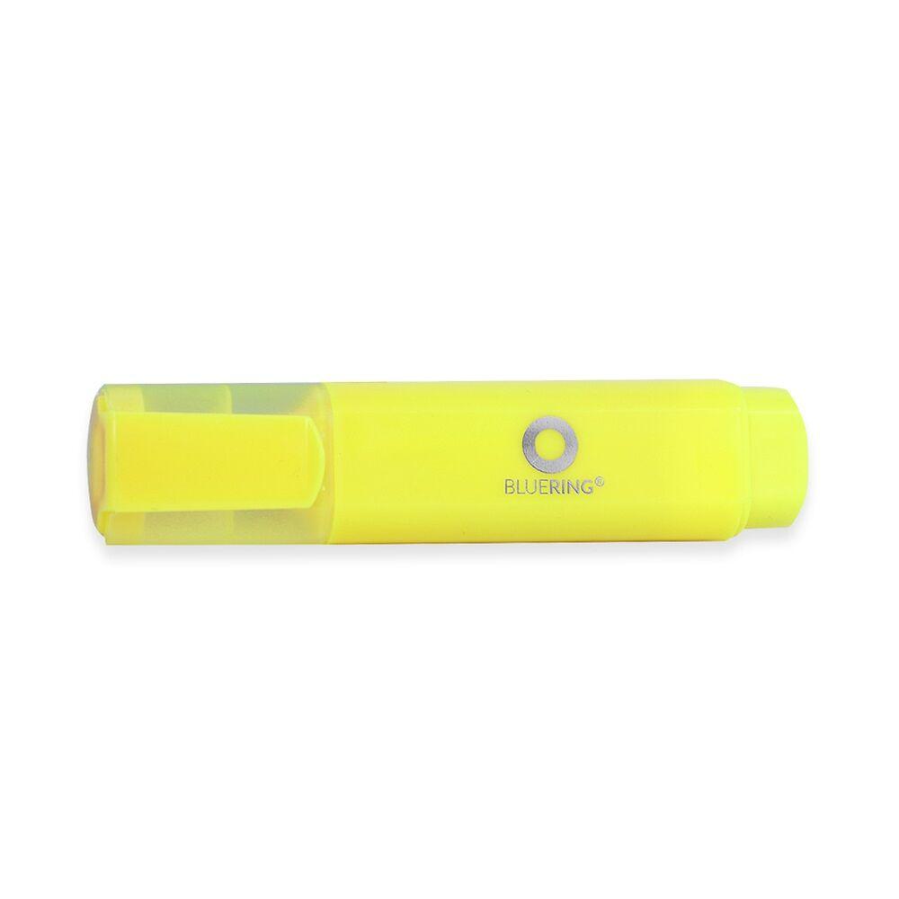 Szövegkiemelő lapos test BLUERING sárga