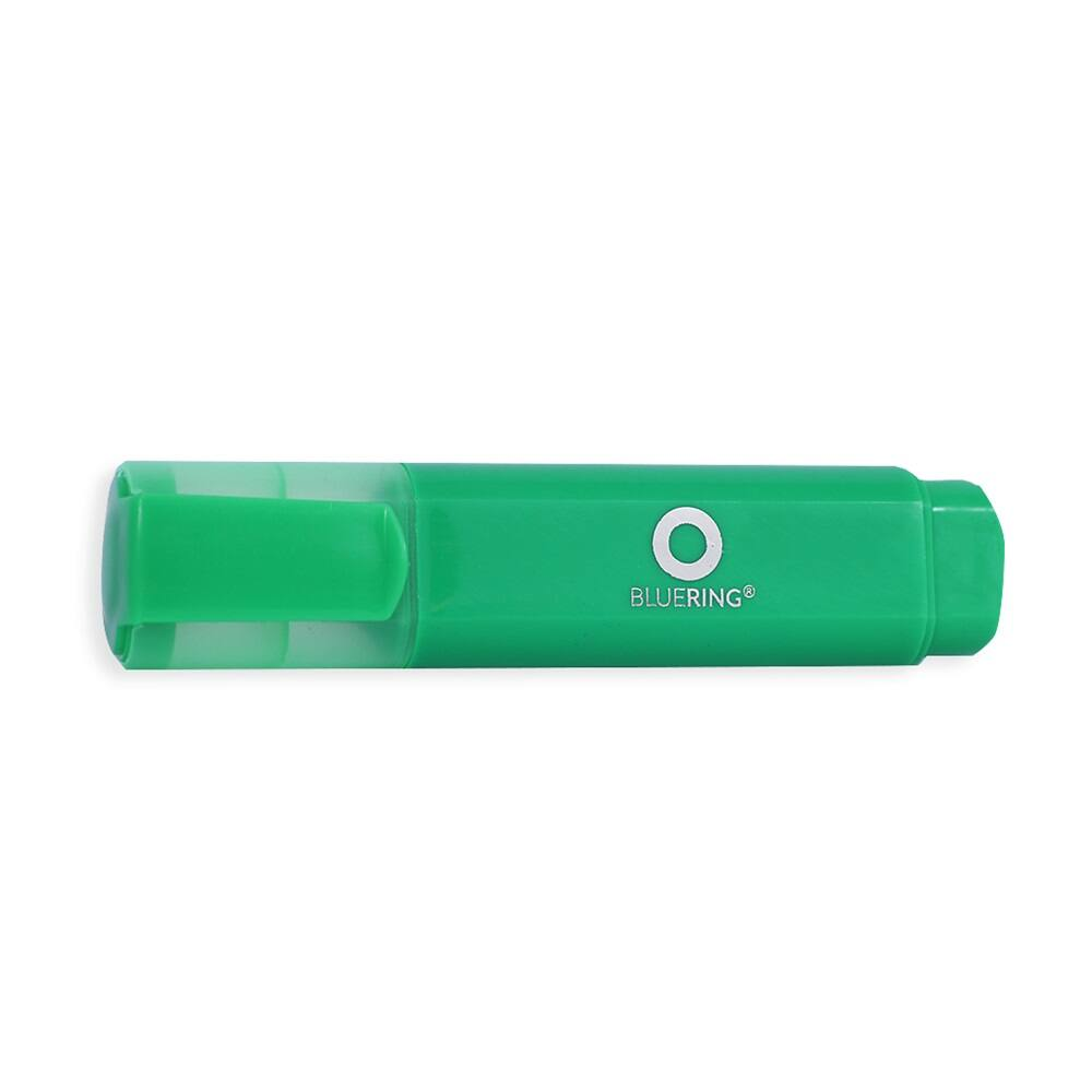 Szövegkiemelő lapos test BLUERING zöld