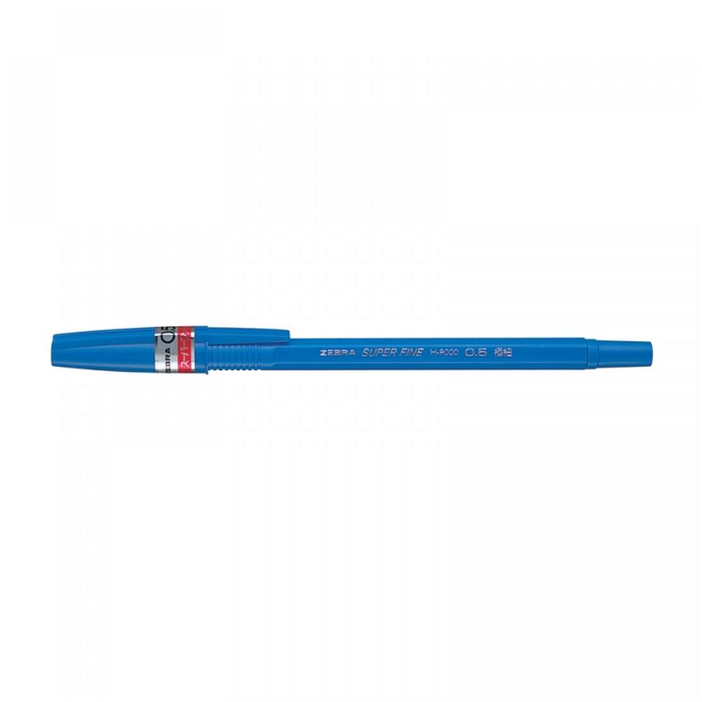 Golyóstoll 0,5mm H-8000 ZEBRA kék
