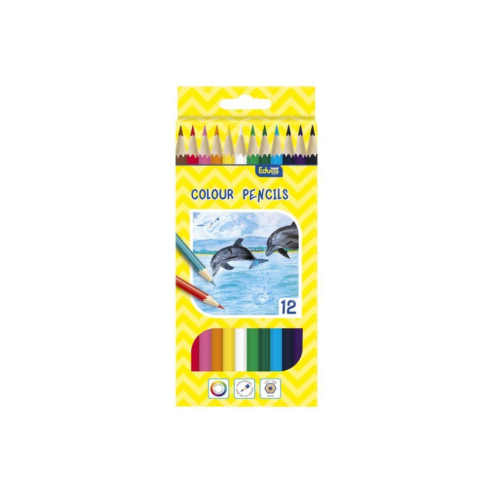 Színes ceruza EDUCA 12db-os készlet