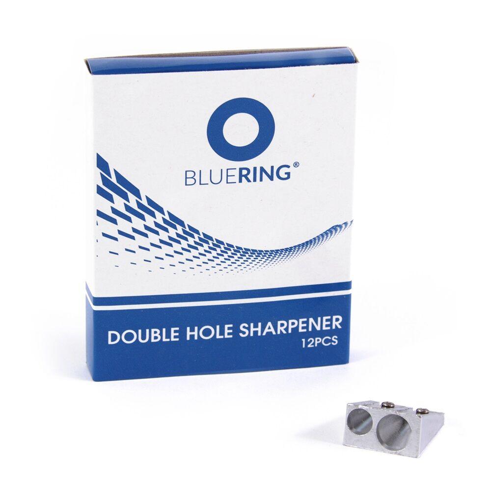 Hegyező fém kétlyukú Bluering