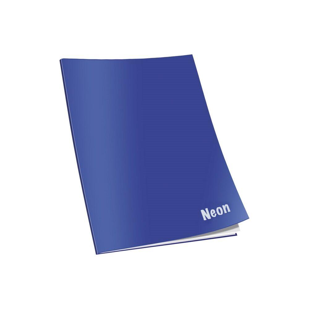 Füzet CONNECT Neon lakk borító, A/4 40+2 lap 80gr papír, kockás
