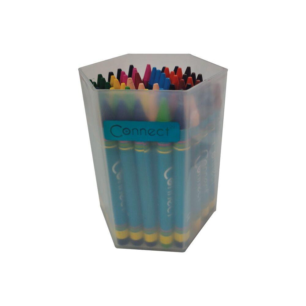Zsírkréta CONNECT 60db-os készlet PVC dobozban