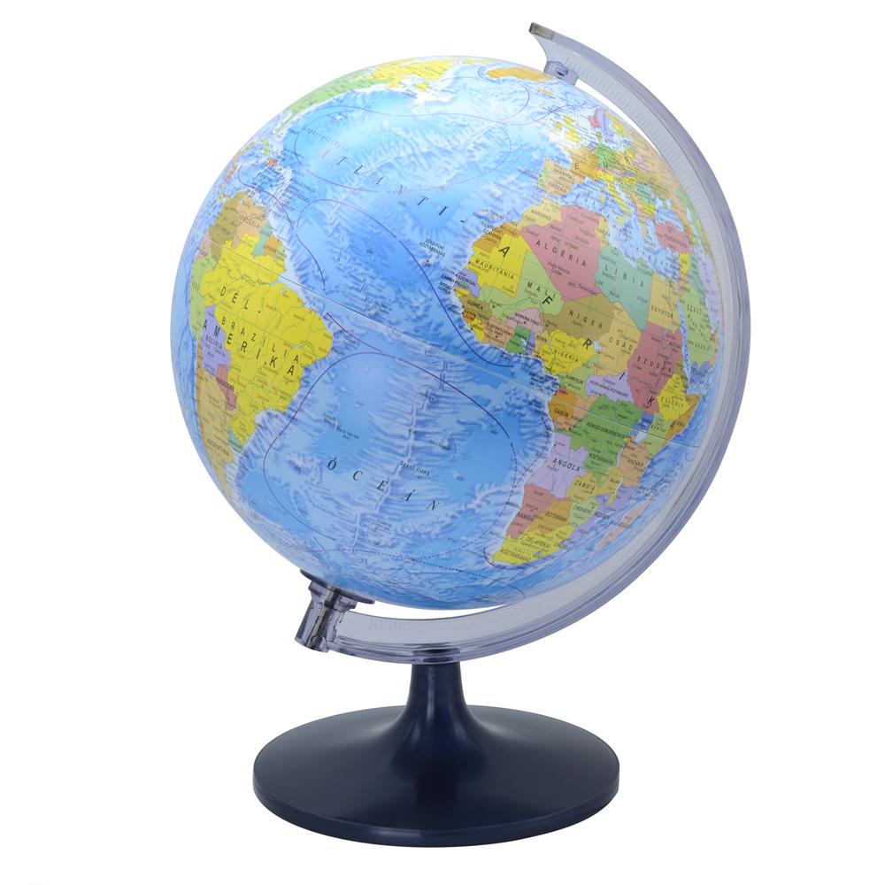Földgömb 25 cm-es politikai