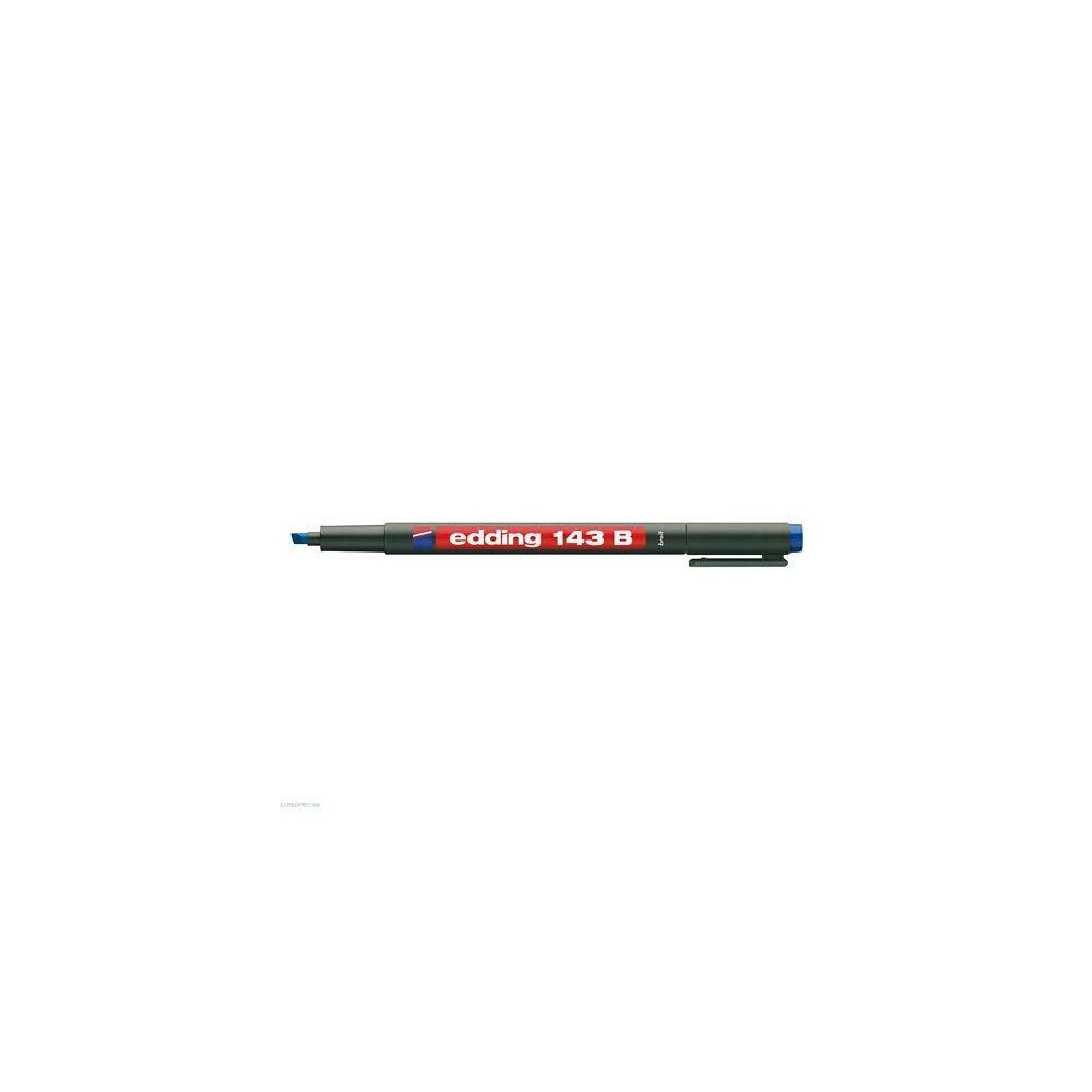 Permanent marker 143B OHP 1-3mm EDDING D10 kék