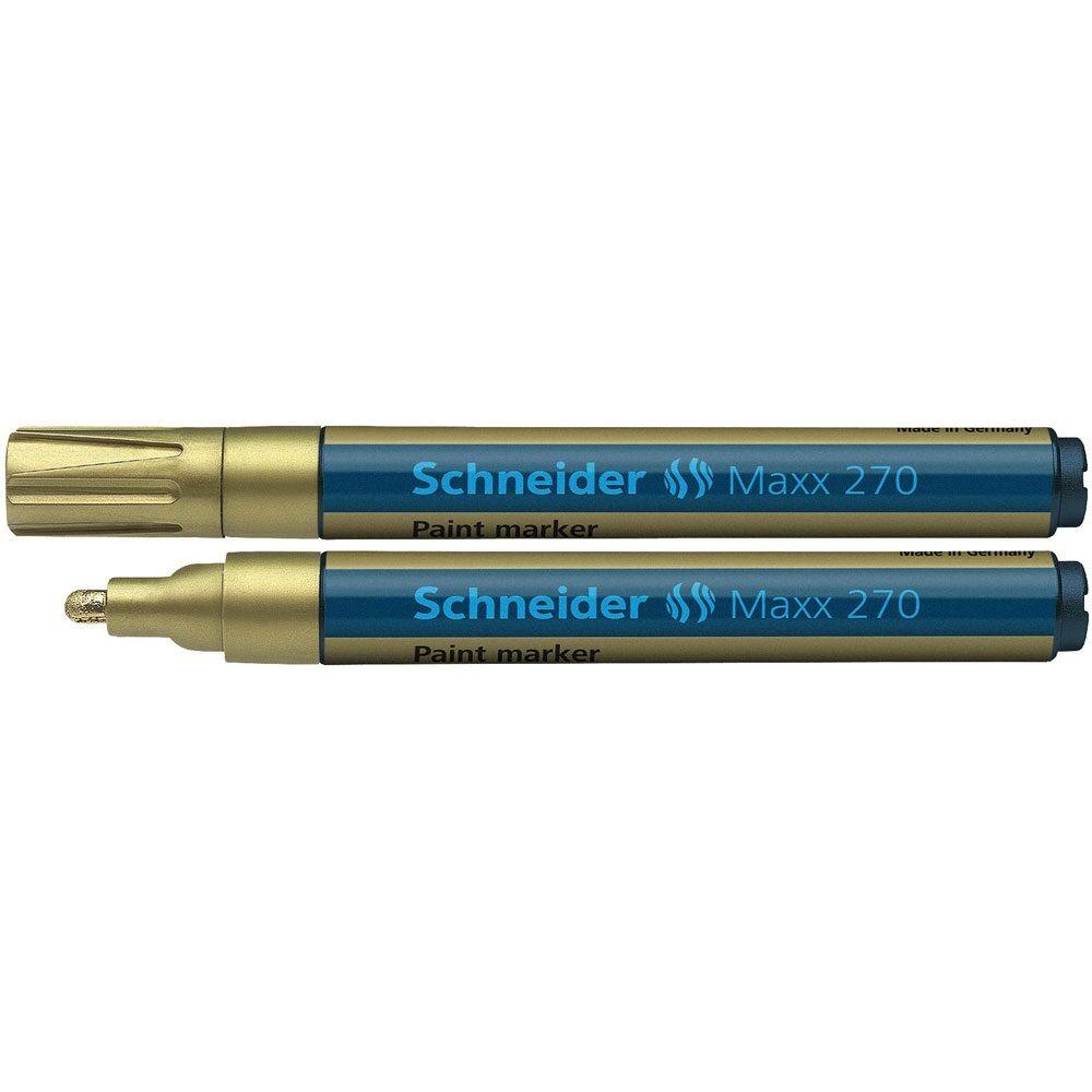 Lakkmarker 1-3 mm SCHNEIDER Maxx 270 arany