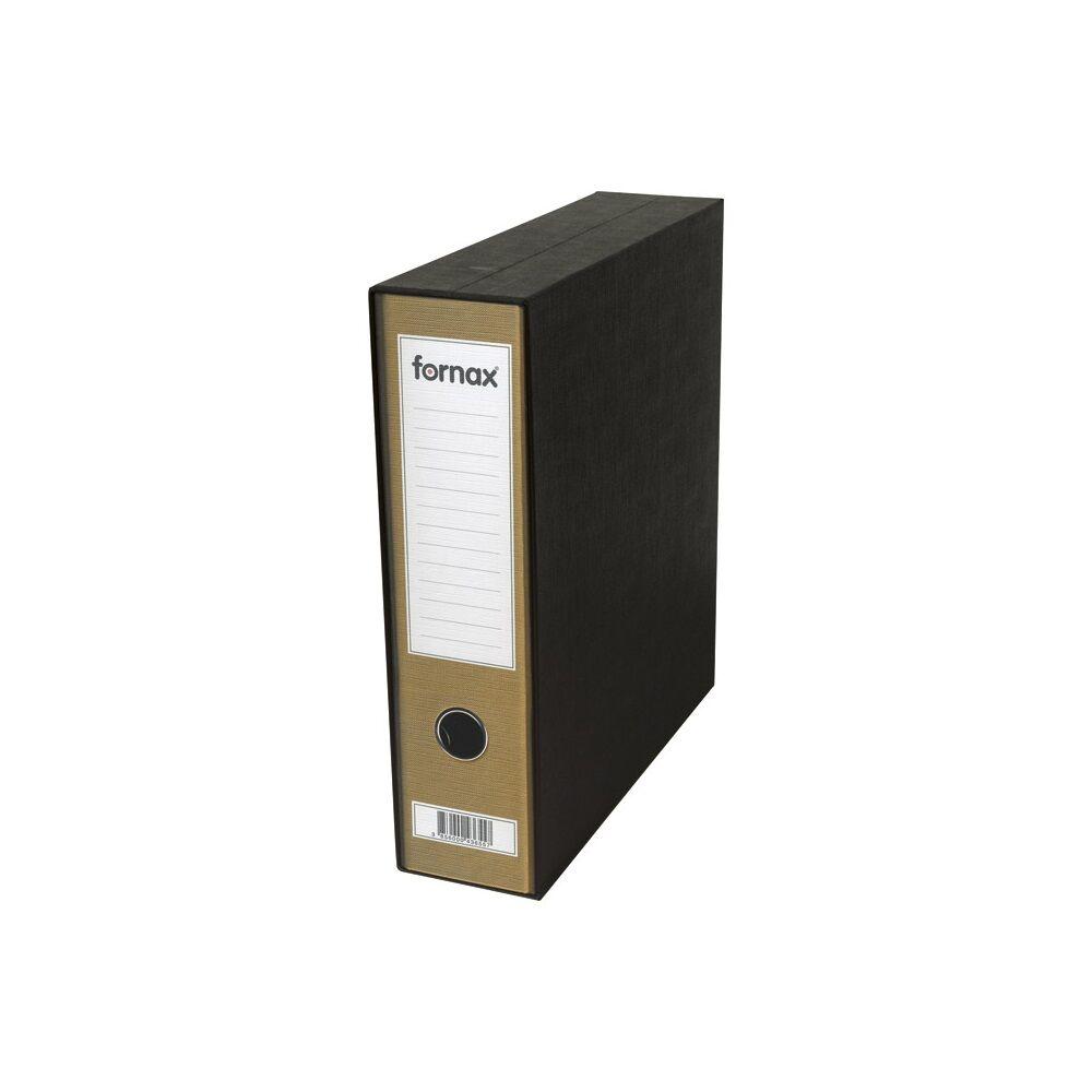 Tokos iratrendező A4, 8 cm, FORNAX Prestige metál arany