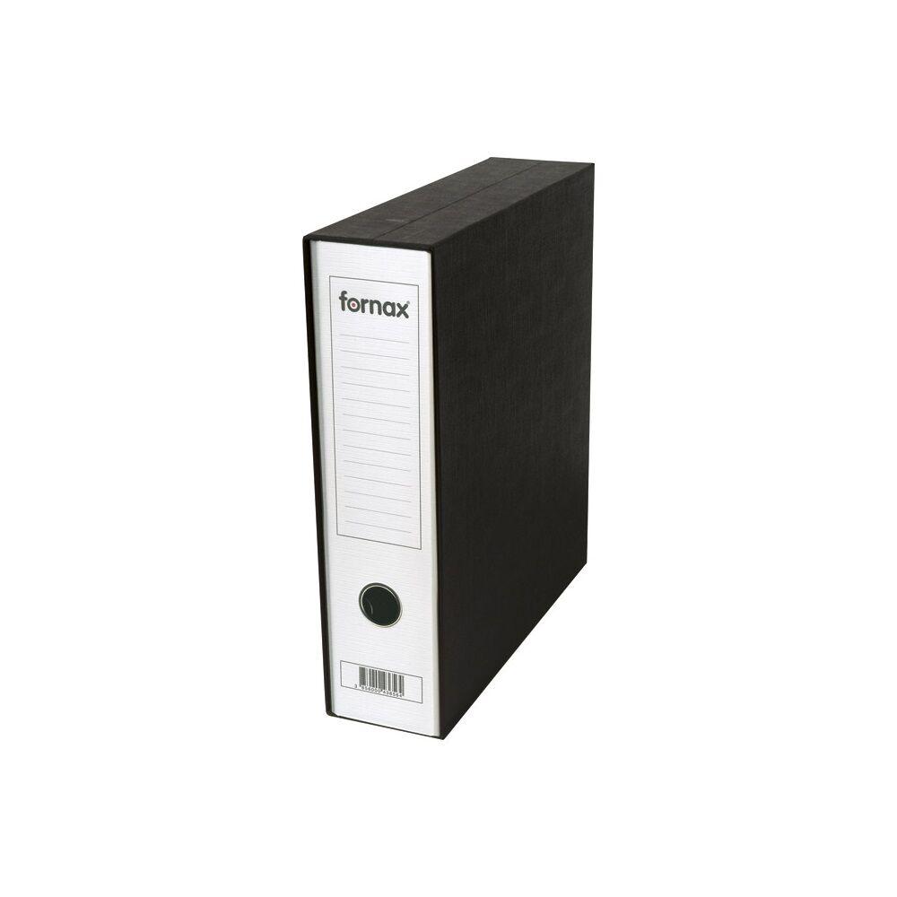 Tokos iratrendező A4, 8 cm, FORNAX Prestige fehér