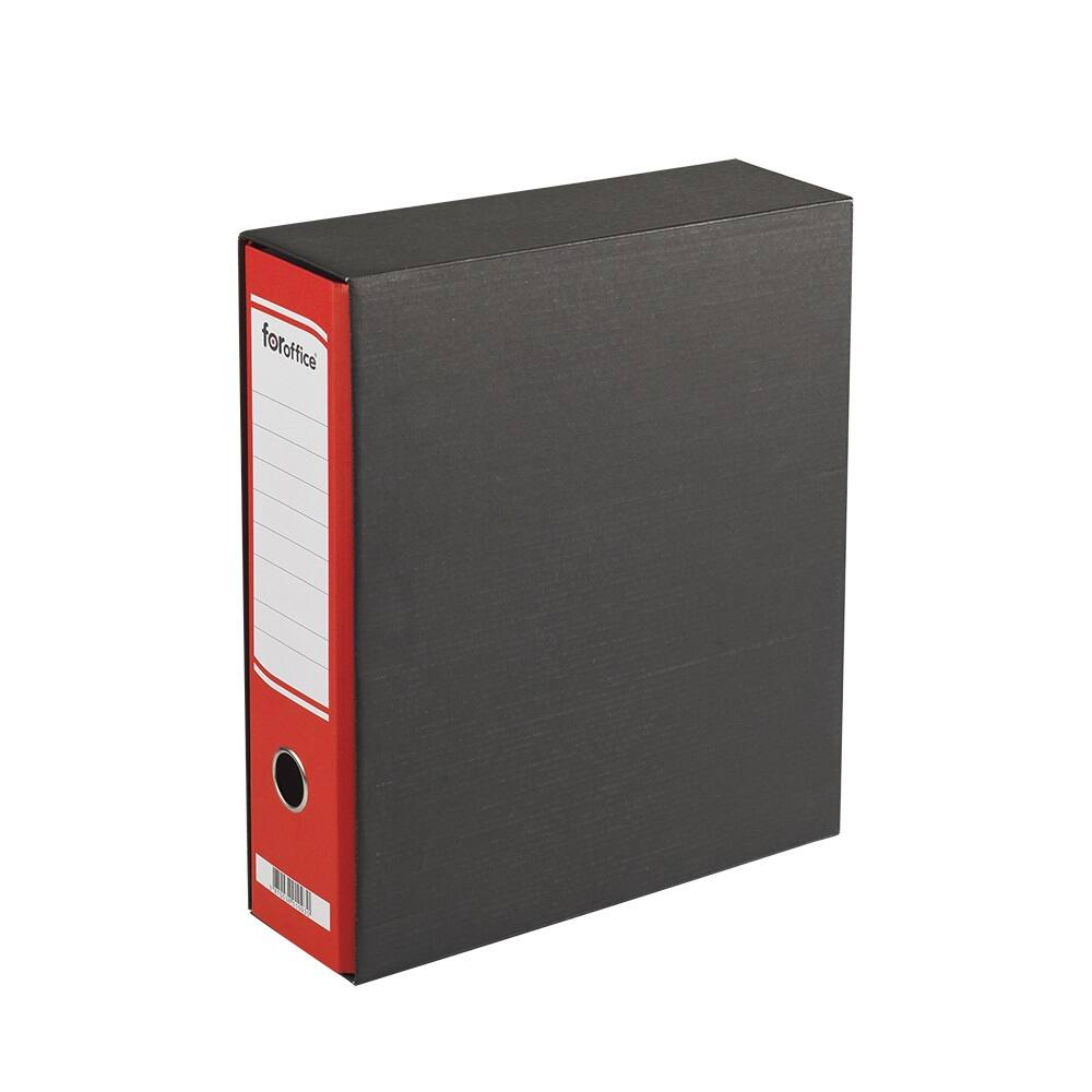 Tokos iratrendező A4, 8 cm, FOROFFICE piros