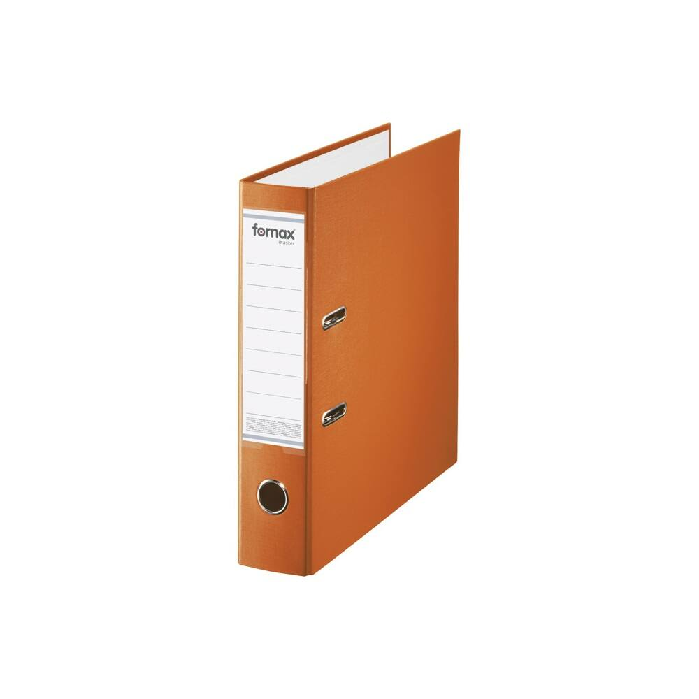 Iratrendező A4, 8 cm, FORNAX Master narancssárga