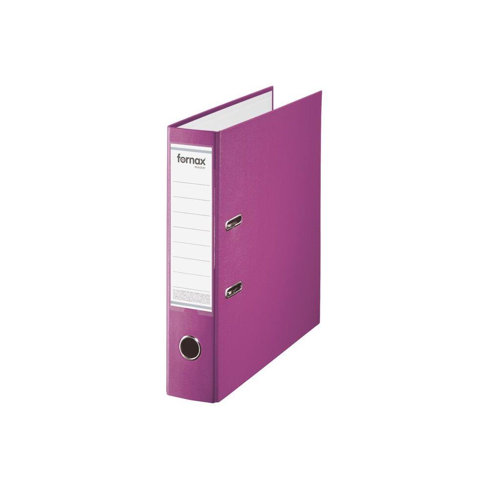 Iratrendező A4, 8 cm, FORNAX Master rózsaszín