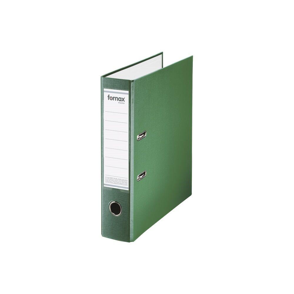 Iratrendező A4, 8 cm, FORNAX Master zöld