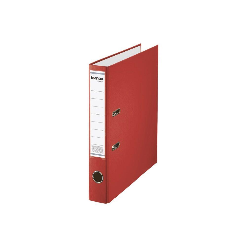 Iratrendező A4, 5,5 cm, FORNAX Master piros