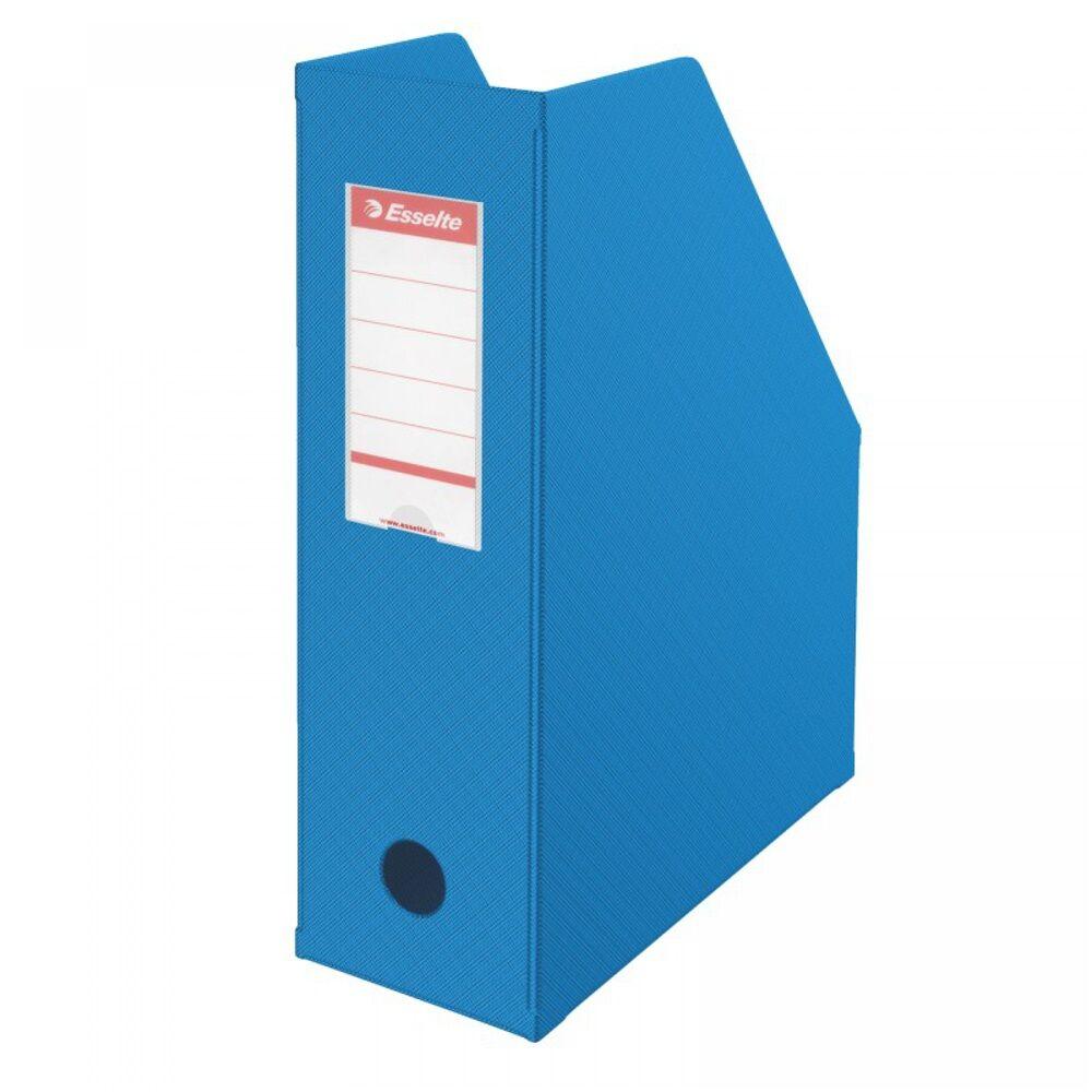 Iratpapucs 10 cm műanyag kék 56075 ESSELTE