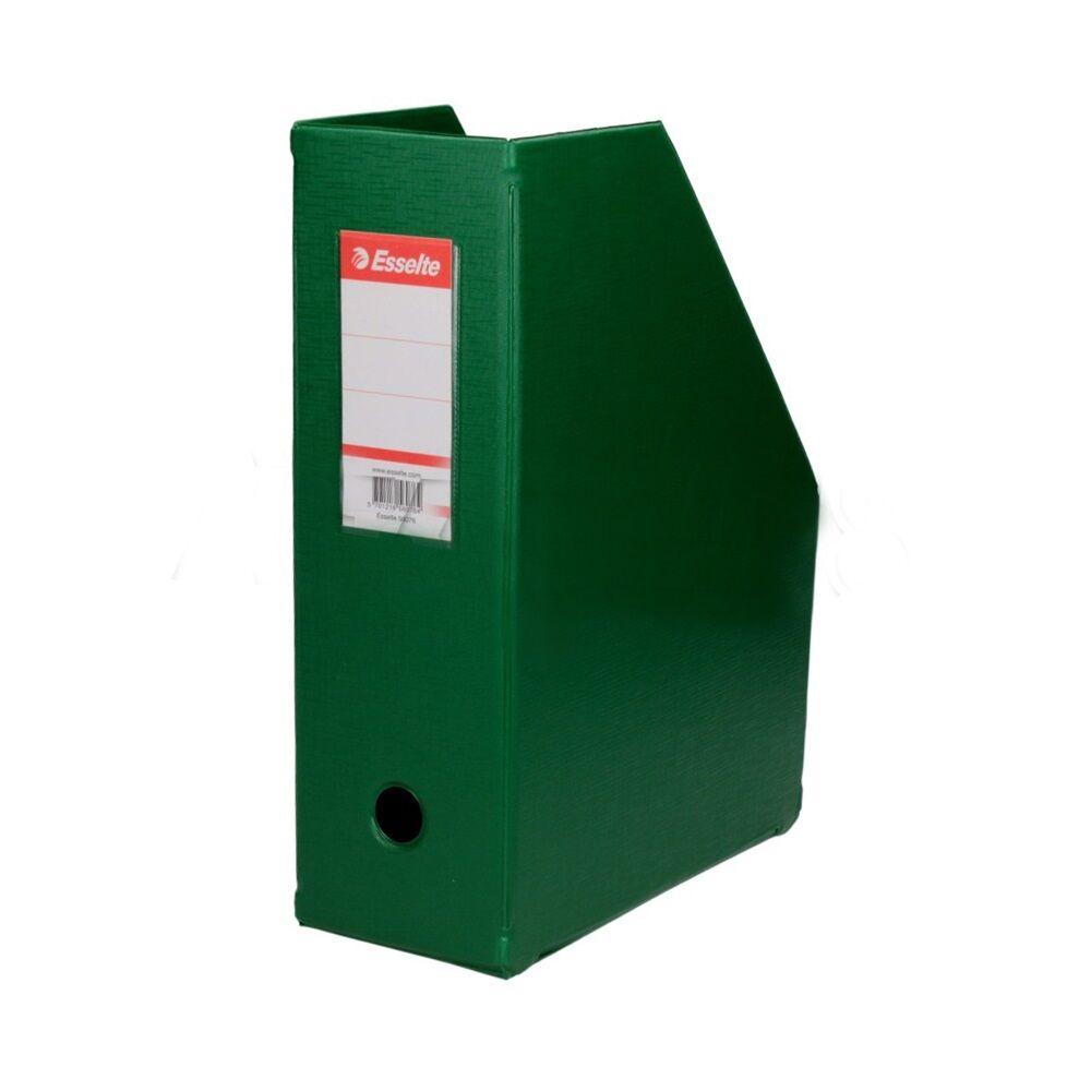 Iratpapucs 10 cm műanyag zöld 56076 ESSELTE