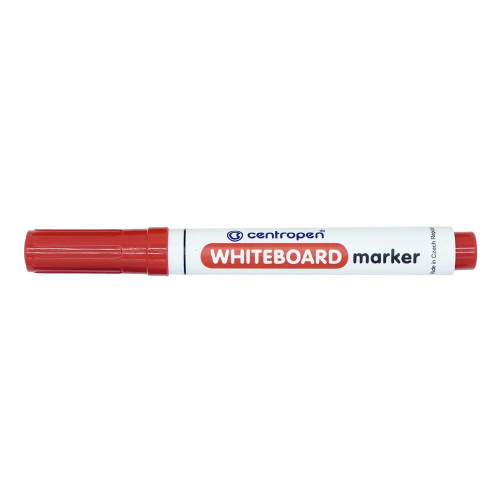 Táblamarker CENTROPEN 8559 kerek végű, 2,5 mm, piros