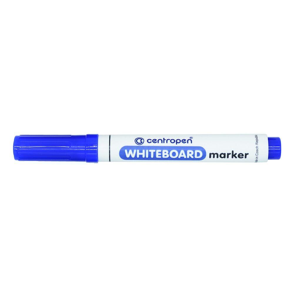 Táblamarker CENTROPEN 8559 kerek végű, 2,5 mm, kék