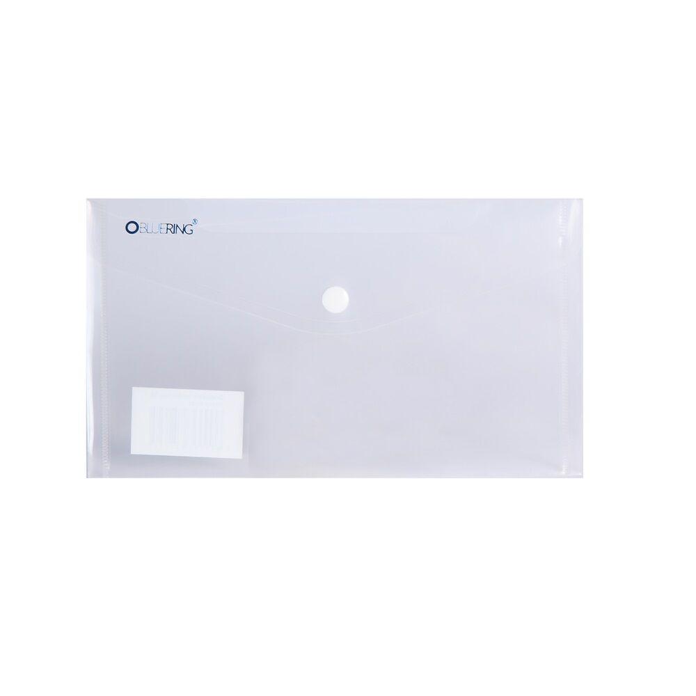Irattartó tasak DL `CSEKK` patentos PP transzparens 12 db /csomag BLUERING