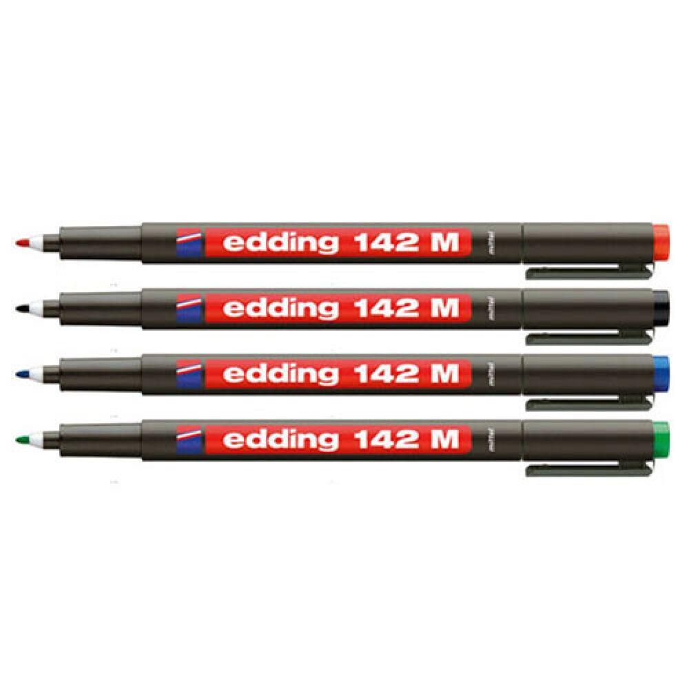 Permanent marker 142M 1mm EDDING fekete