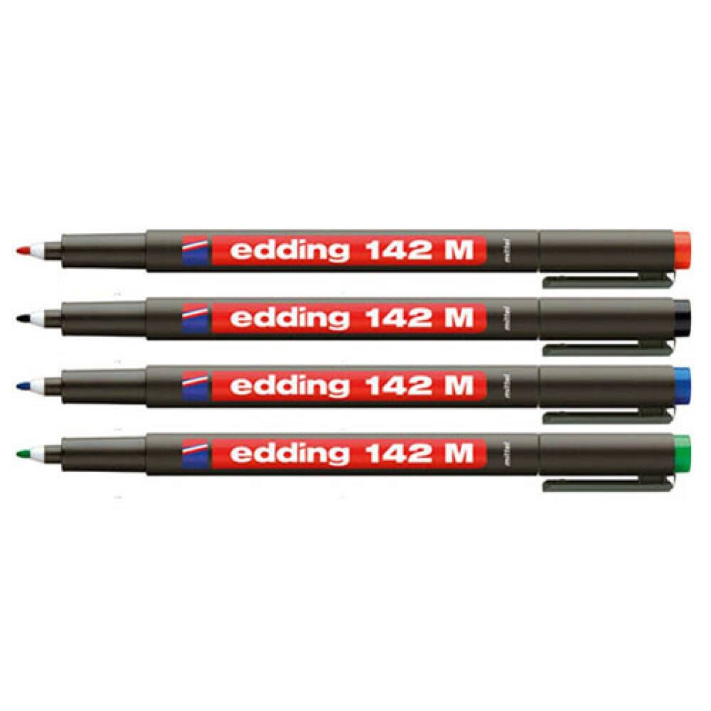 Permanent marker 142M 1mm EDDING piros