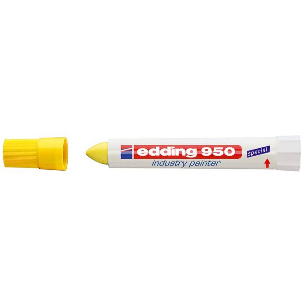 Permanent jelölő marker 10mm kúpos EDDING 950 sárga