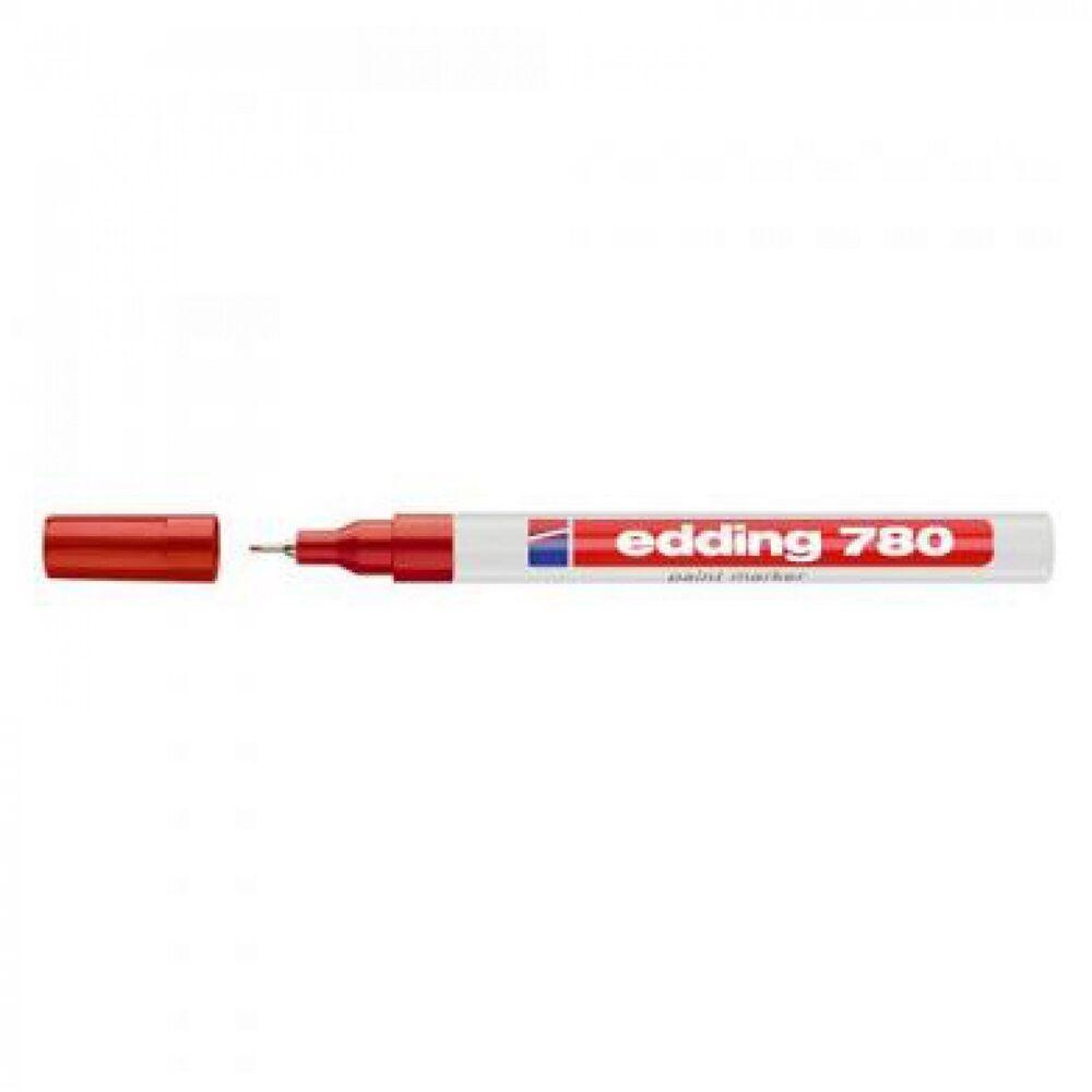Lakkmarker 0,8mm kerek EDDING 780 piros