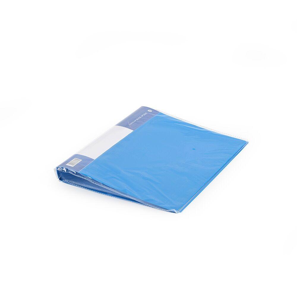 Iratvédő mappa A4 40 tasakos kék