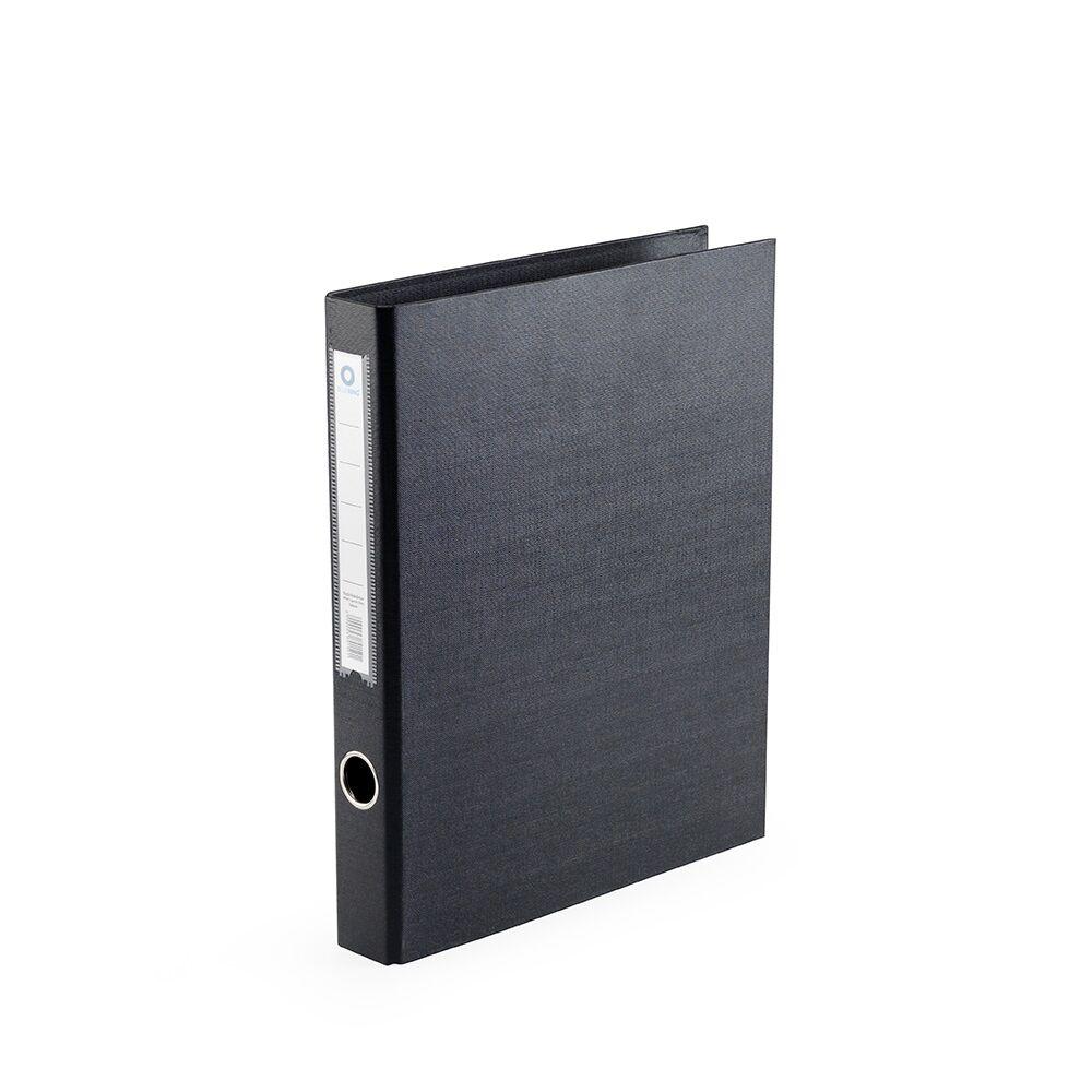 Gyűrűskönyv A4 3,5 cm 2 gyűrűs PP/PP BLUERING PRÉMIUM fekete