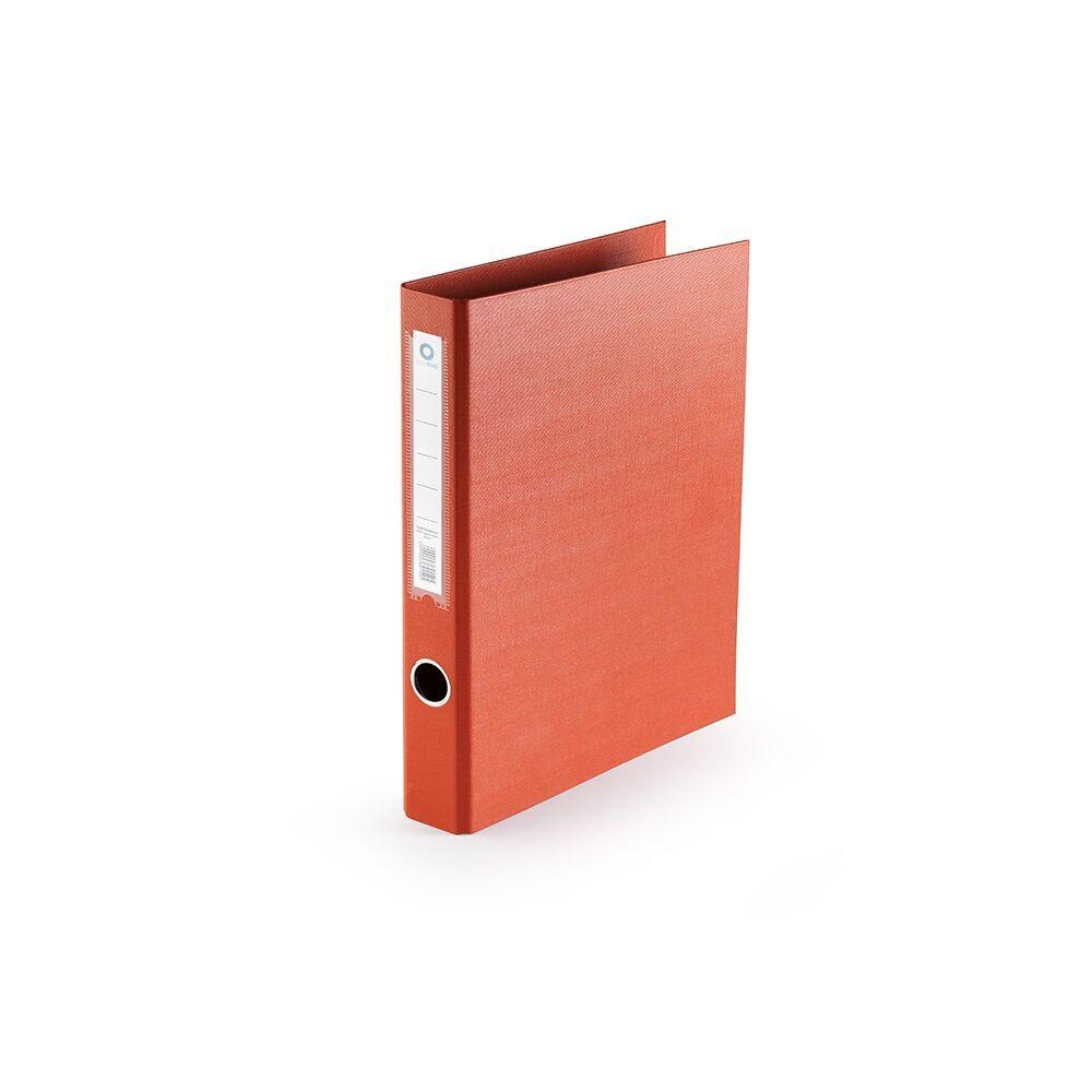 Gyűrűskönyv A4 3,5 cm 2 gyűrűs PP/PP BLUERING PRÉMIUM piros