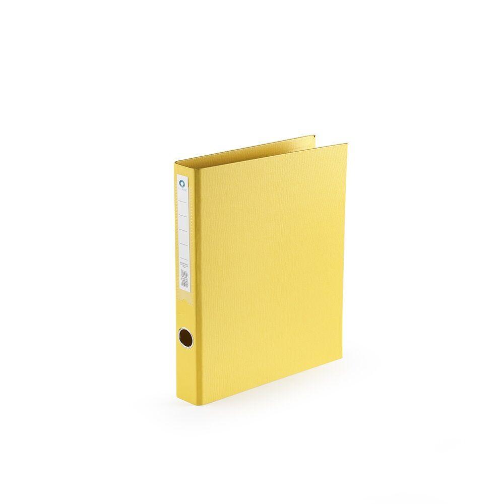 Gyűrűskönyv A4 3,5 cm 2 gyűrűs PP/PP BLUERING PRÉMIUM sárga