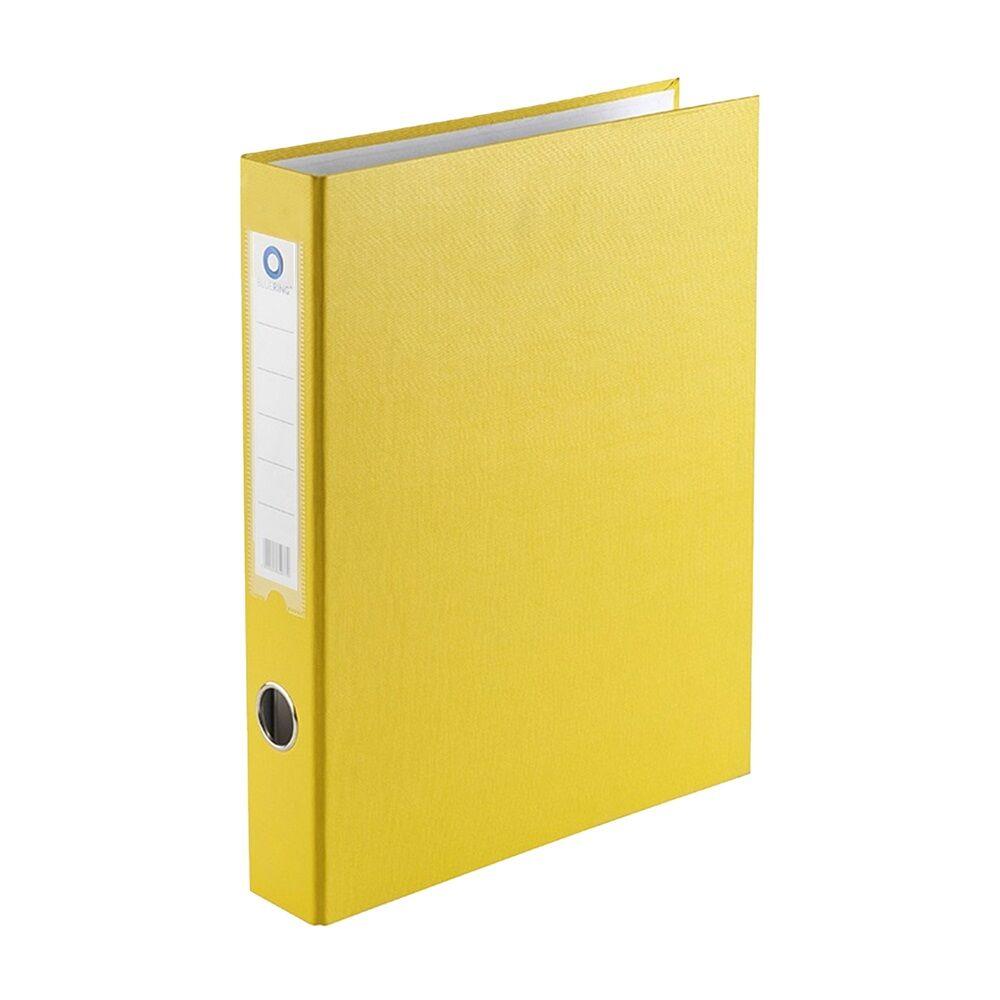 Gyűrűskönyv A4 3,5 cm 4 gyűrűs BLUERING sárga