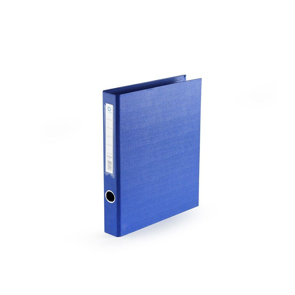 Gyűrűskönyv A4 4,5 cm 4 gyűrűs PP/PP BLUERING PRÉMIUM kék