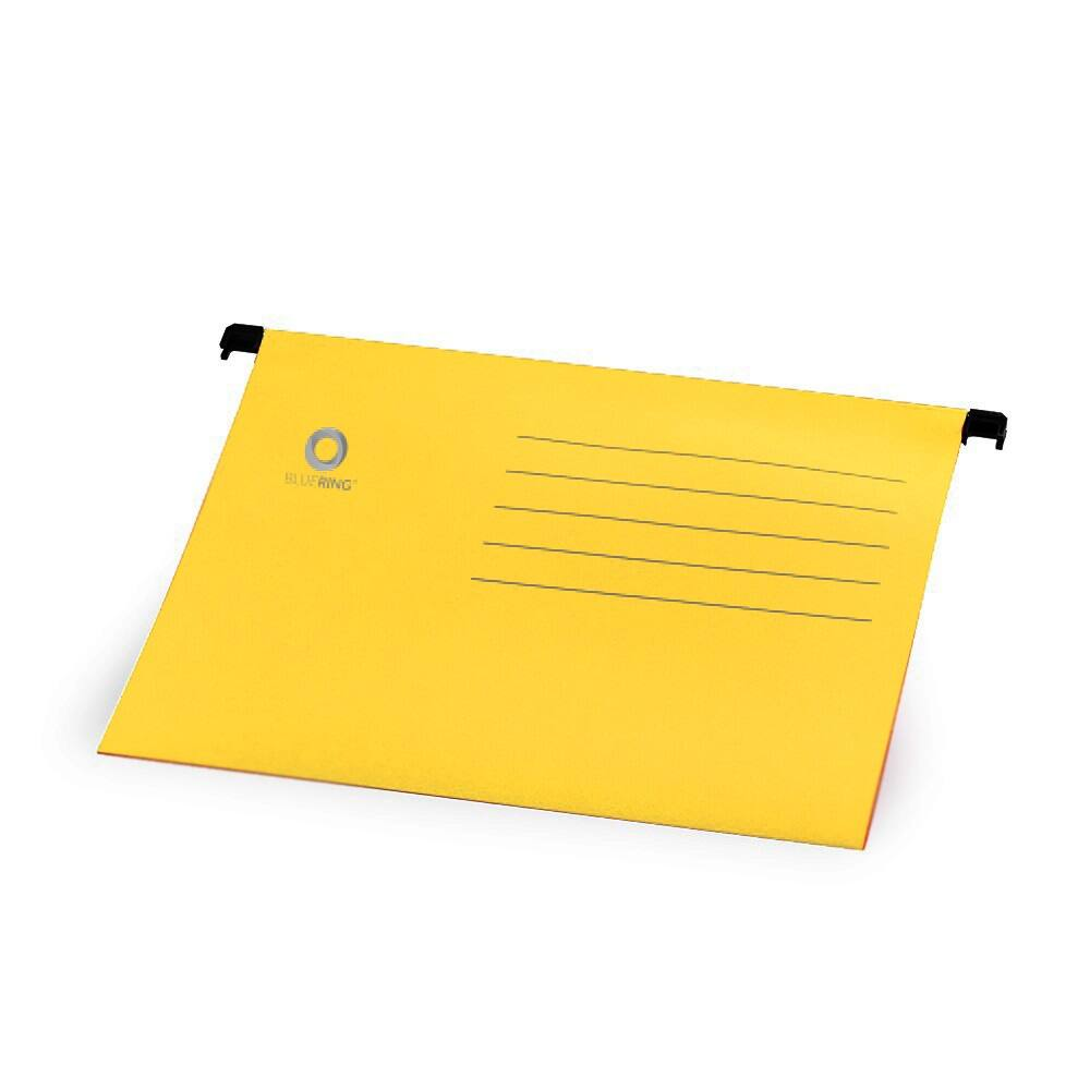 Függőmappa A4 karton sárga