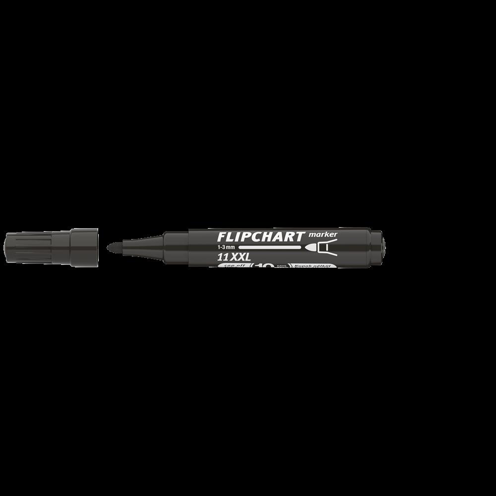 Flipchart marker vízbázisú 3mm kerek ARTIP 11XXL fekete