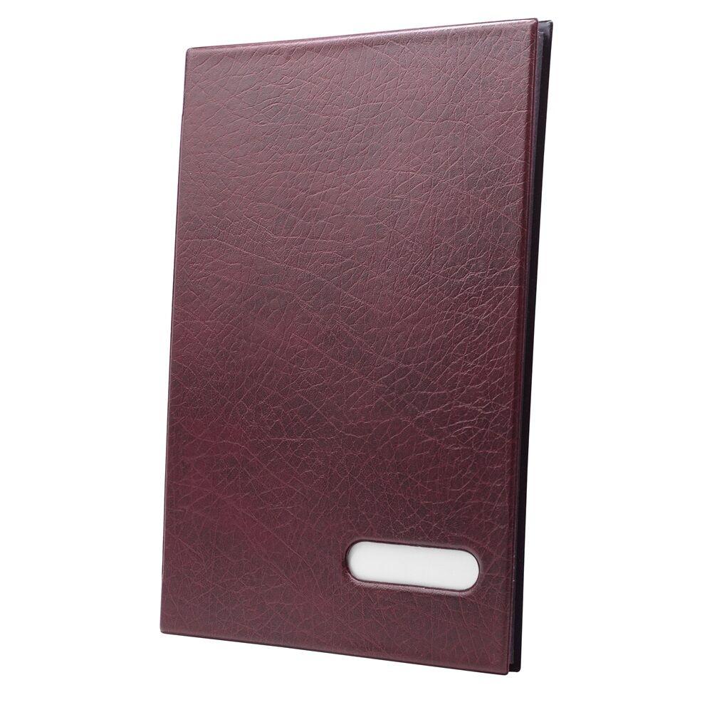 Aláírókönyv 14 lapos piros
