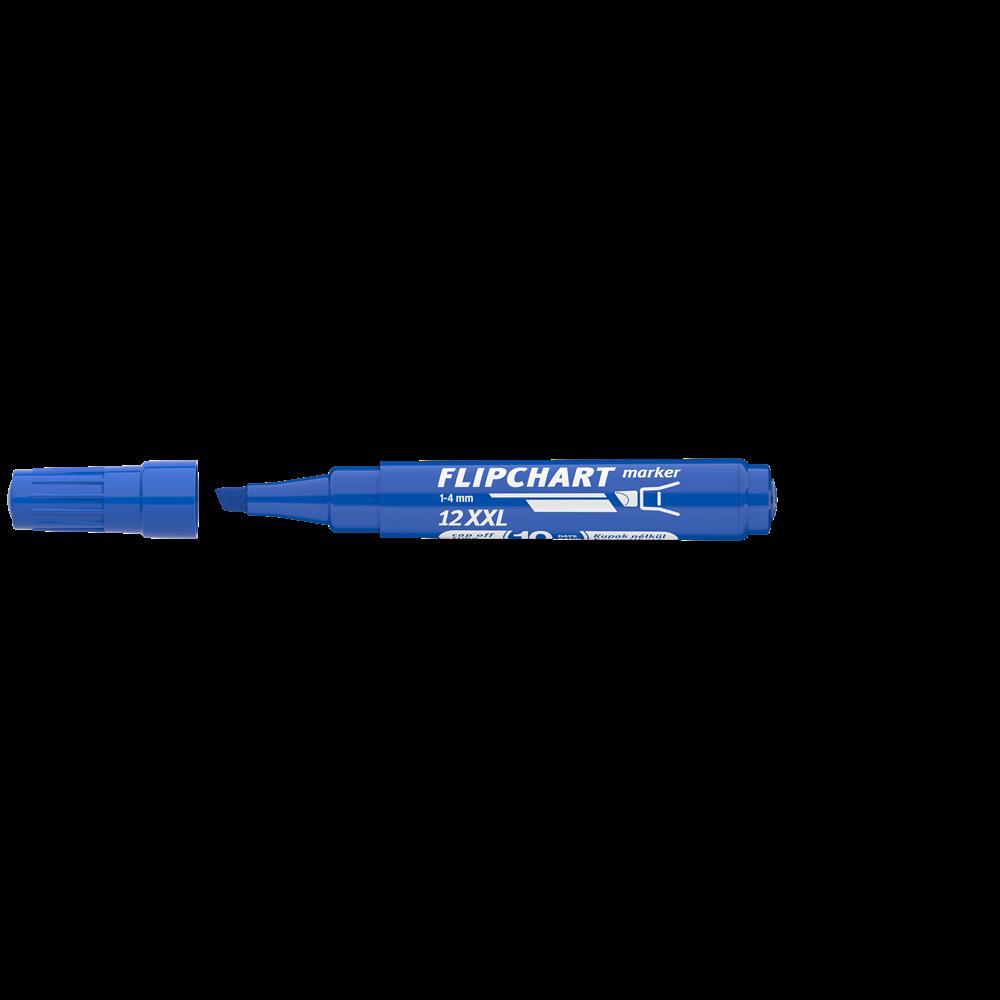 Flipchart marker vízbázisú 1-4mm vágott ARTIP 12XXL kék