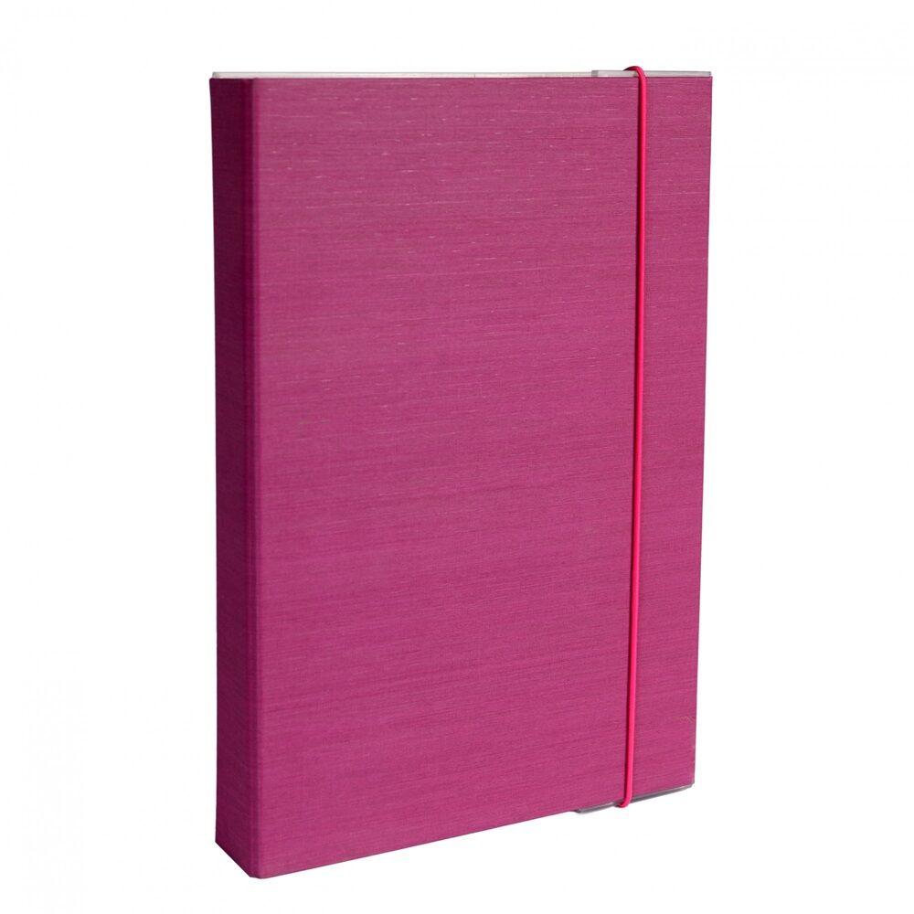 Füzetbox A4 lila BLUERING
