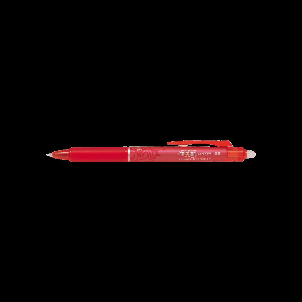 Rollertoll 0,5mm törölhető PILOT FRIXION Clicker piros
