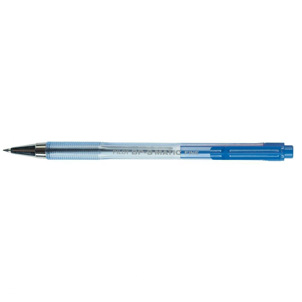 Golyóstoll 0,7mm nyomógombos PILOT BPS MATIC FINE kék