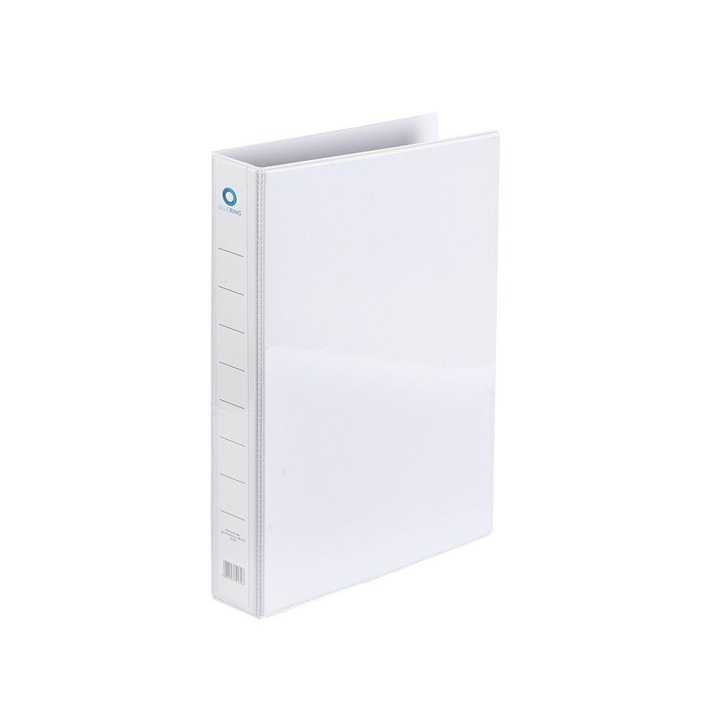 Panorámás gyűrűskönyv A4 3,7 cm 4 gyűrűs BLUERING fehér