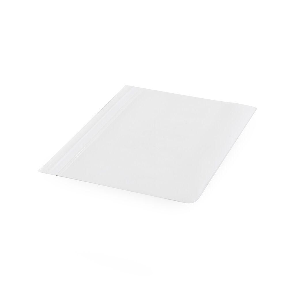 Gyorsfűző műanyag PP A4 fehér darabos