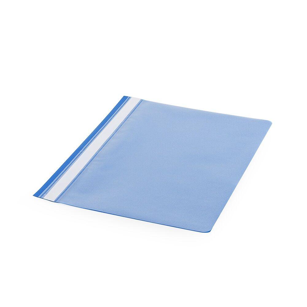 Gyorsfűző műanyag PP A4 kék darabos