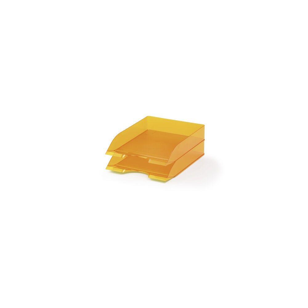 Irattálca DURABLE BASIC, narancssárga 6db/dob