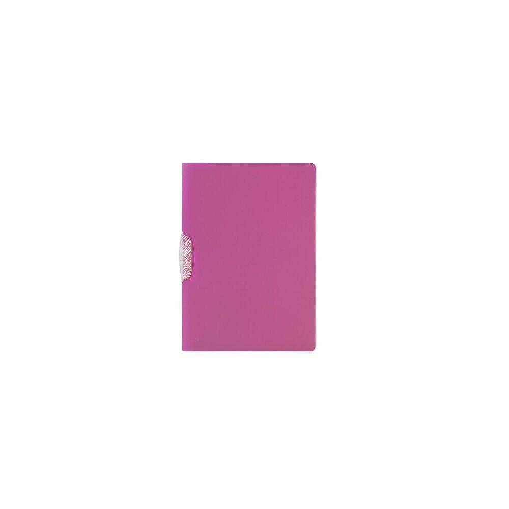 Klip mappa 30 lapos DURABLE SWINGCLIP® Trend, rózsaszín