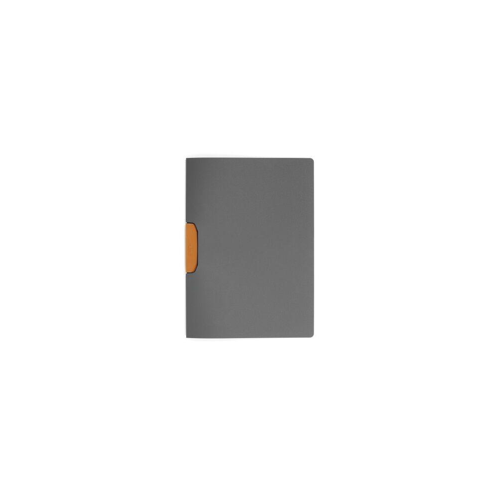 Klip mappa 30 lap DURABLE Duraswing Color, narancssárga