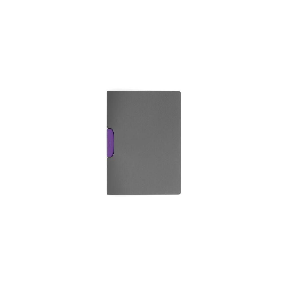 Klip mappa 30 lap DURABLE Duraswing Color, lila